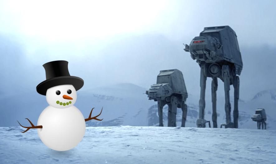 Snowman on Hoth
