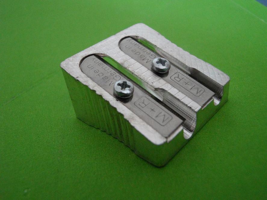 A pencil sharpener
