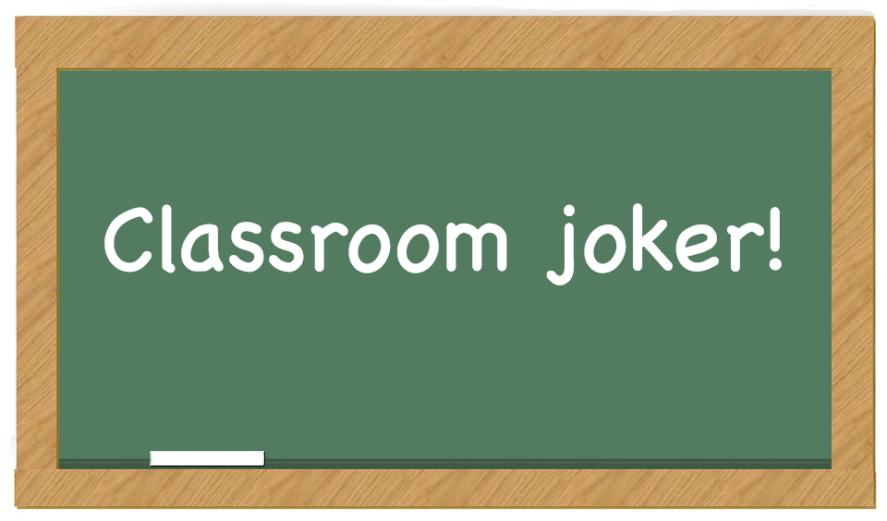 Classroom joker
