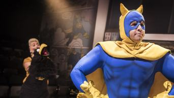 Bananaman and Crow