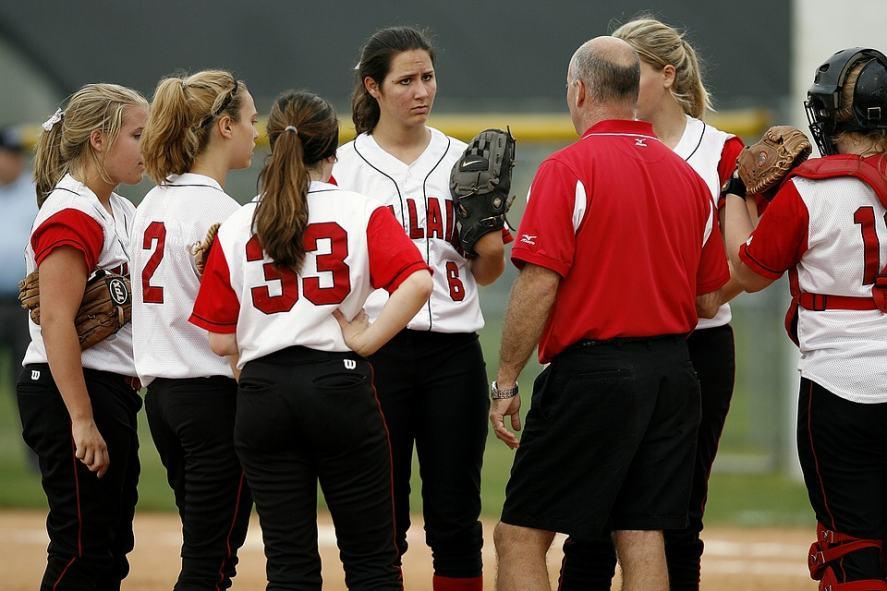 A softball team