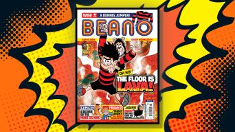 Inside Beano 3920 - The Floor is Laval