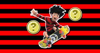 Dennis and Gnasher Unleashed trivia quiz