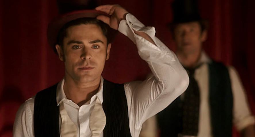 Zac Efron in a scene from The Greatest Showman