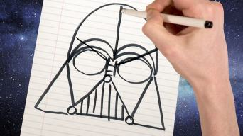 Drawing Darth Vader
