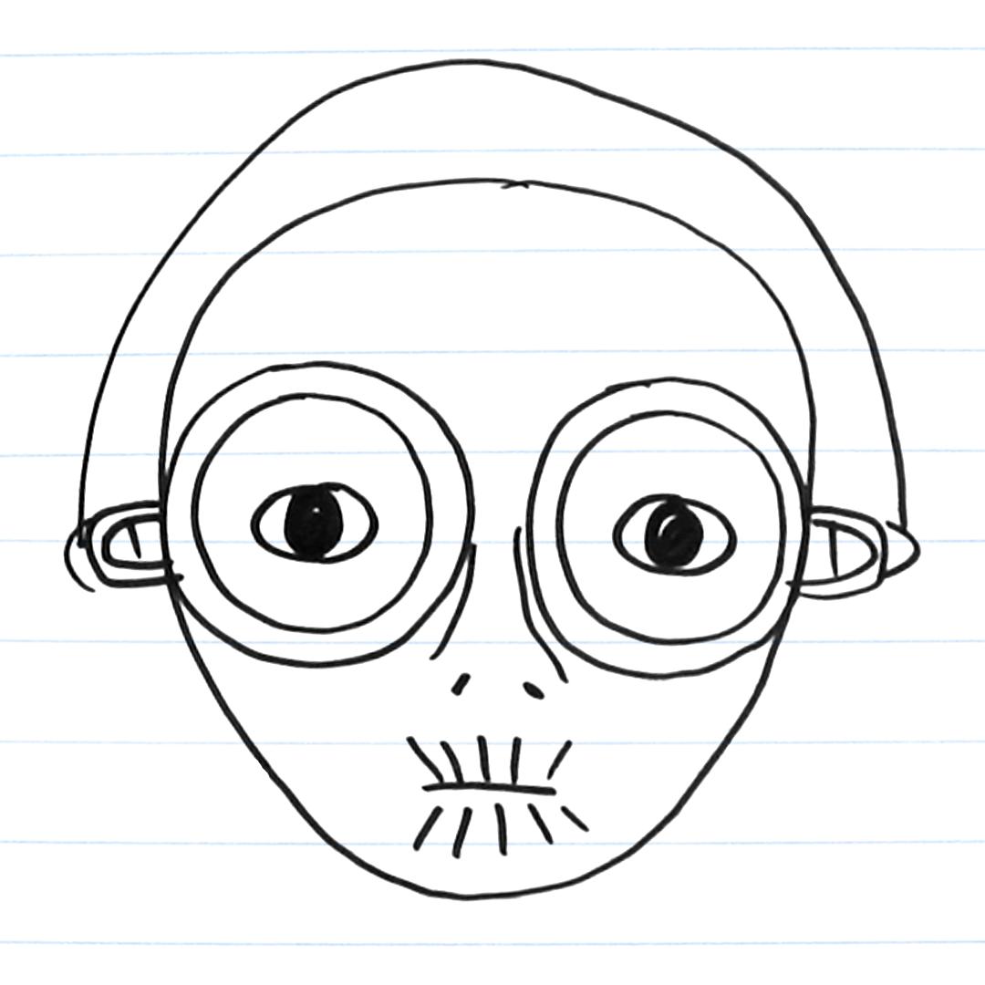 Drawing of Maz Kanata