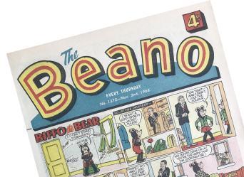 Beano No. 1372 cover
