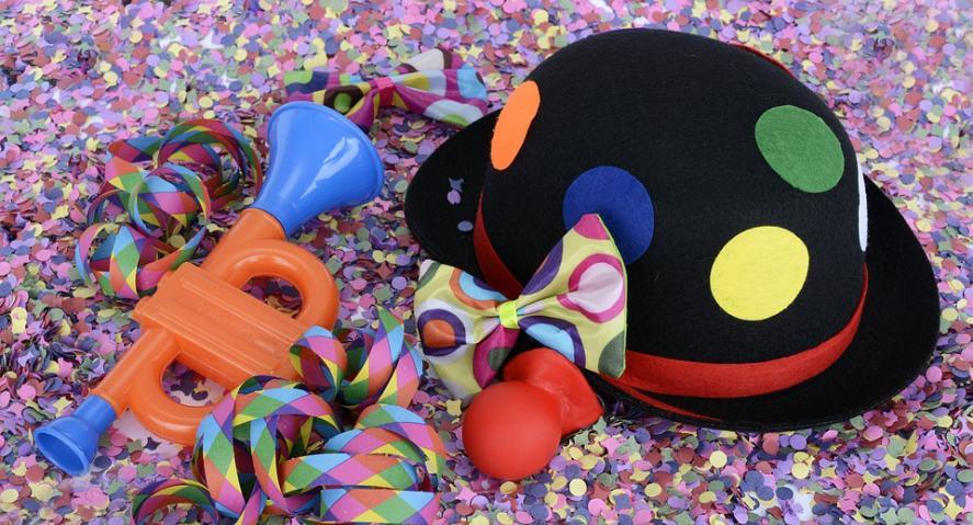 A clown's hat