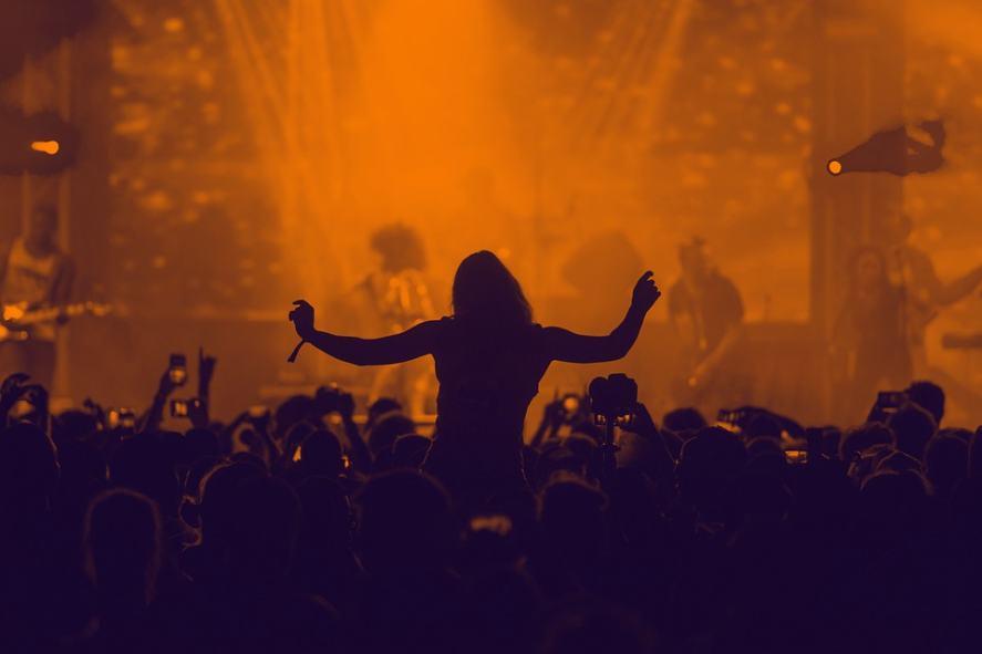 A live music concert