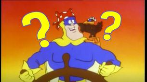 Bananaman and the Harbour Of Lost Ships, from Beano