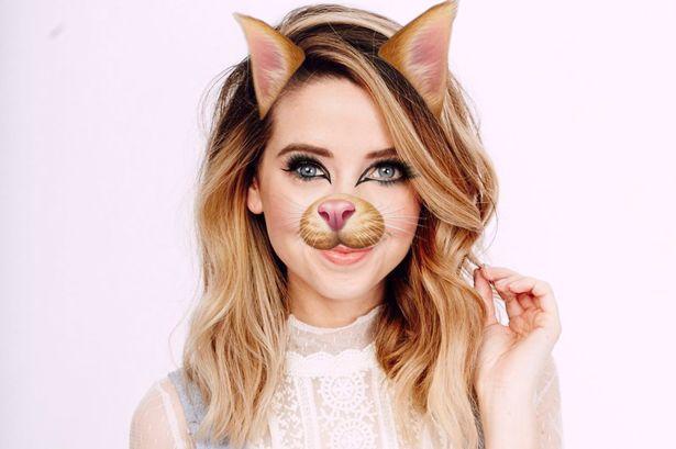 Beano.com's celebrity Snapchat filter quiz
