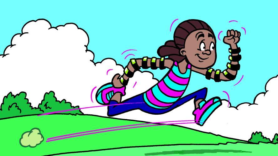 JJ gets jogging