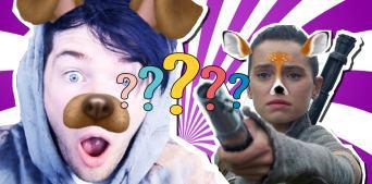 Beano Snapchat filter quiz