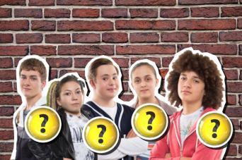 The cast of CBBC's Dumping Ground