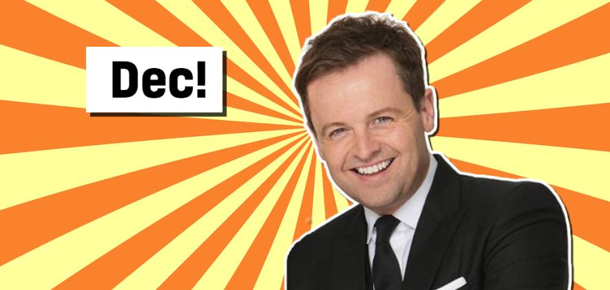 Declan Donnelly from Saturday Night Takeaway