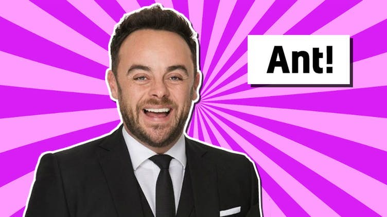 Ant McPartlin from Saturday Night Takeaway