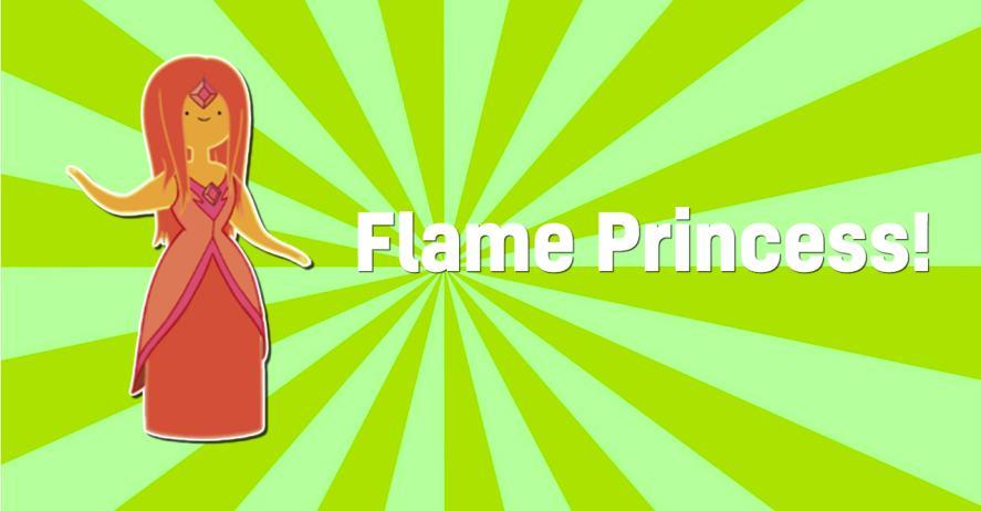 Adventure Time's Flame Princess