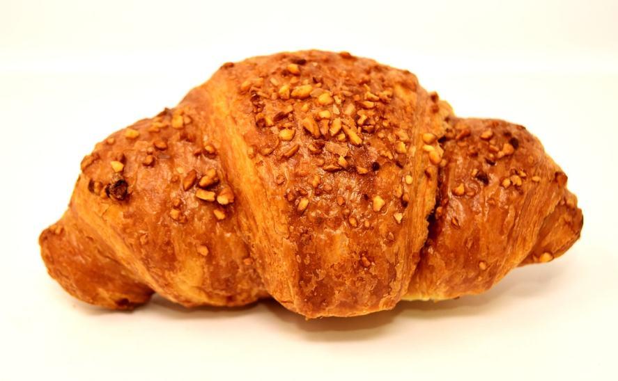 A chocolate croissant