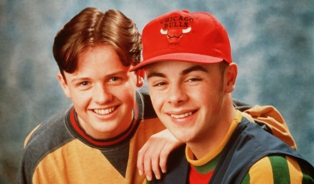Ant and Dec as pop stars