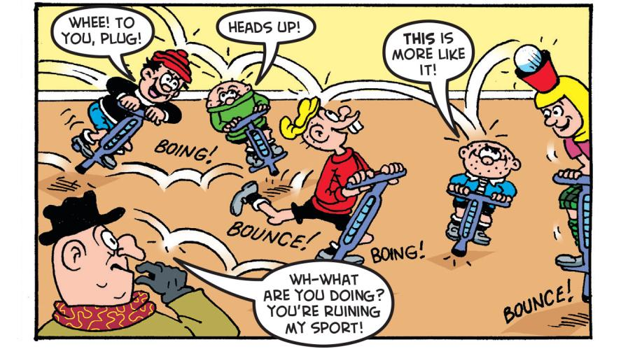 What's the name of the Bash Street Kids' game?