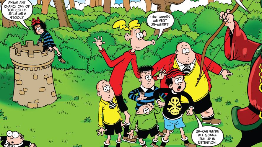 Bash Street Kids attempt a competition