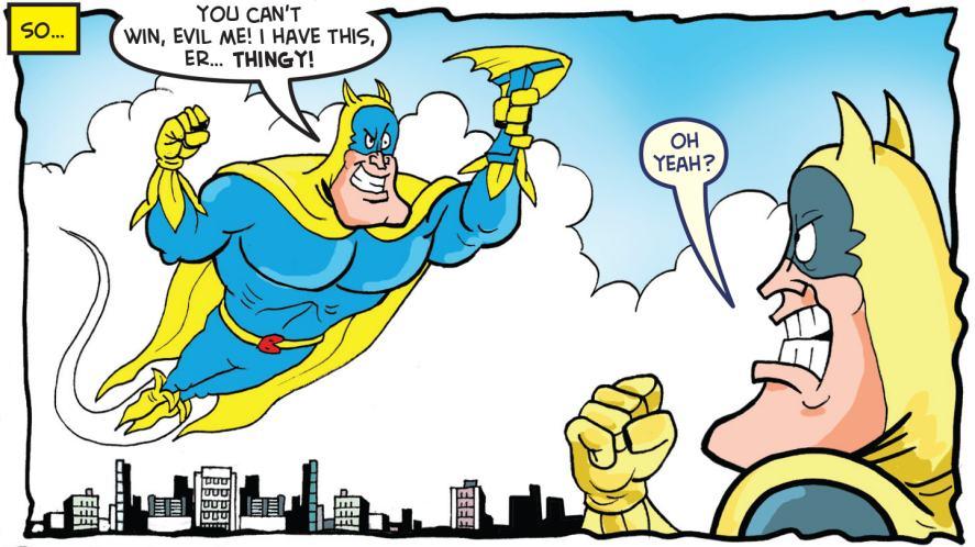 The Evil Bananaman?