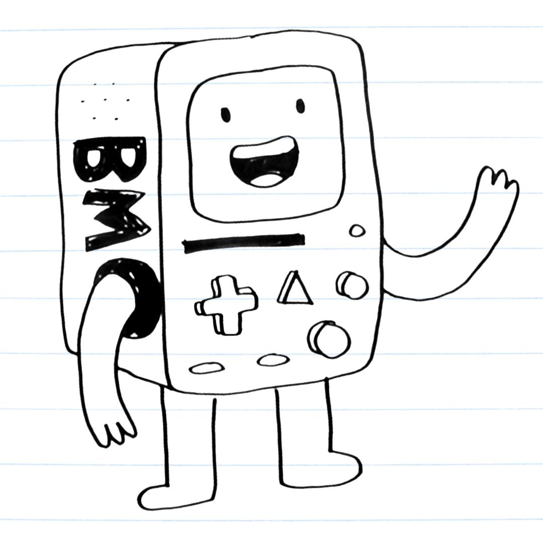 Drawing of BMO