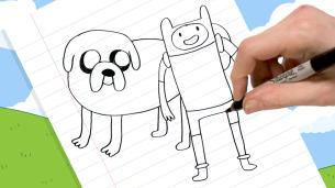 Quick Draw Finn and Jake