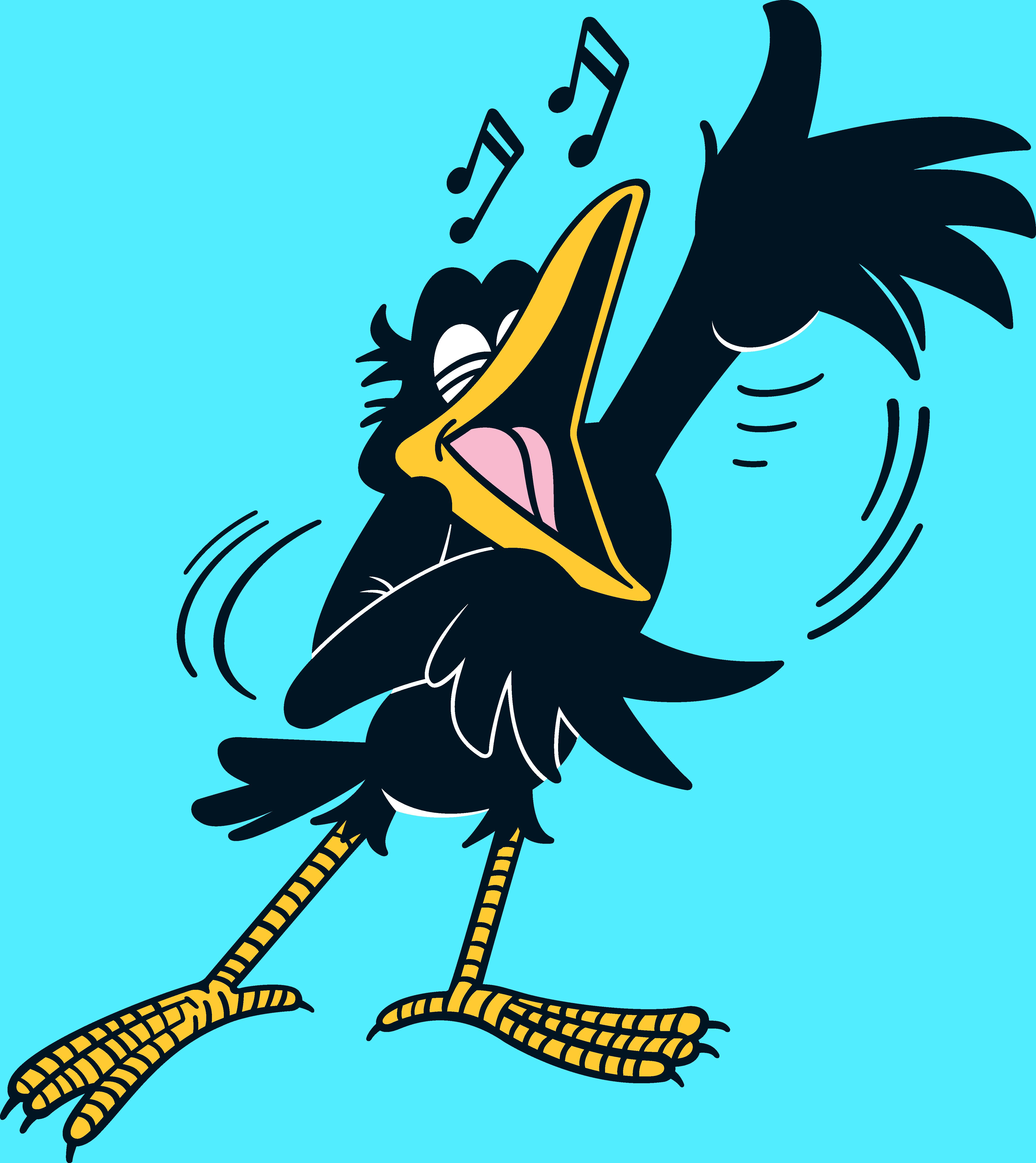 Crow, Bananaman's sidekick