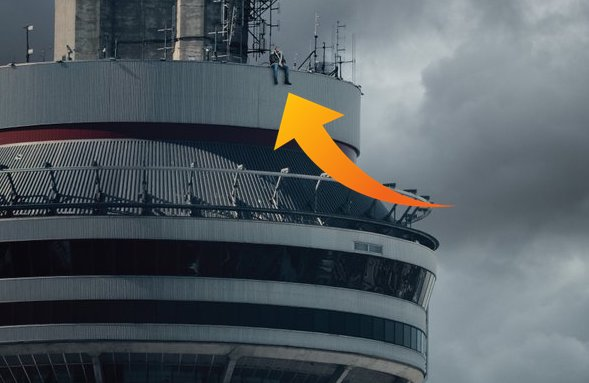 Drake's Views From The 6 album cover