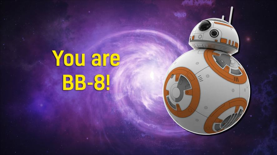 BB-8 from The Force Awakens