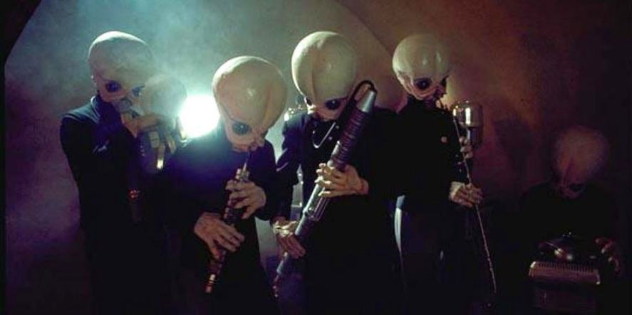 The cantina band from Star Wars
