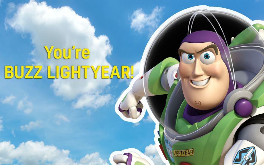 Toy Story's Buzz Lightyear