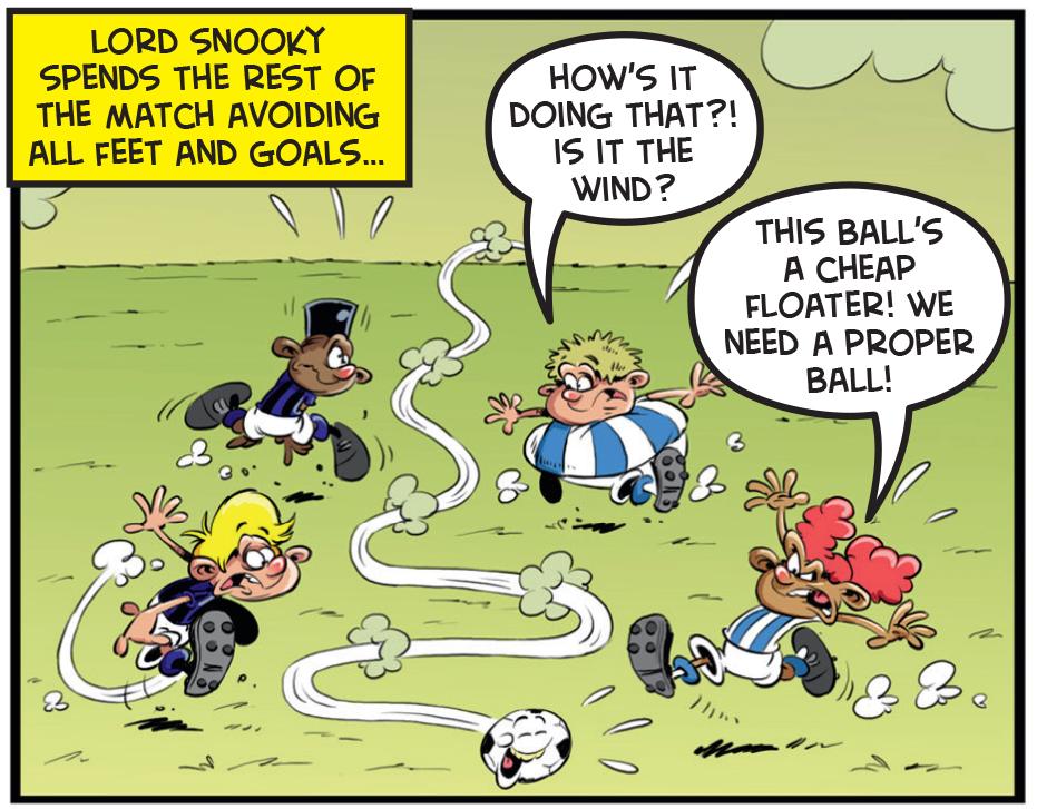 Ball Boy and the Evil Spirit