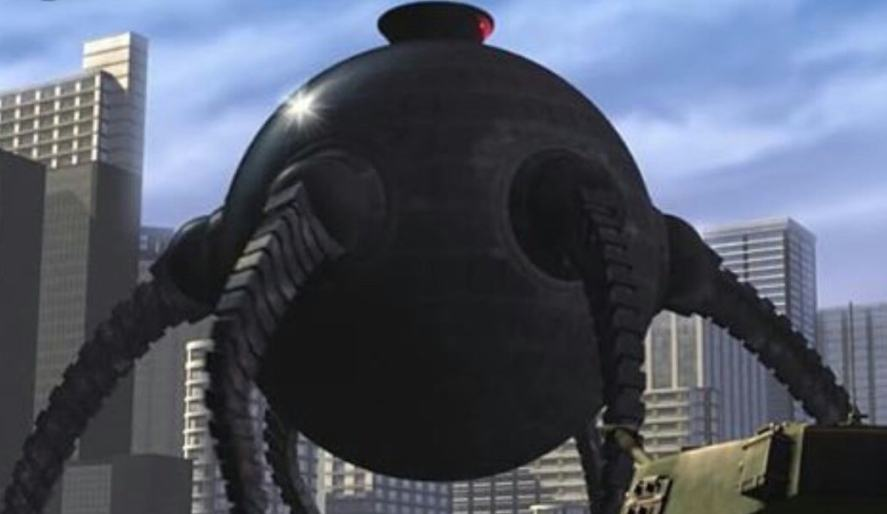 One of Syndrome's robots