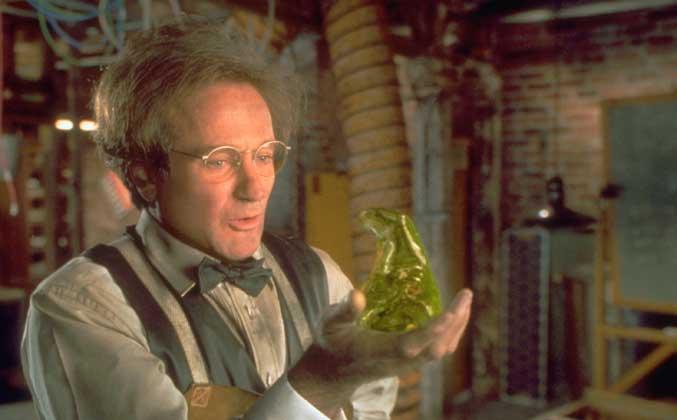 Robin Williams in Flubber