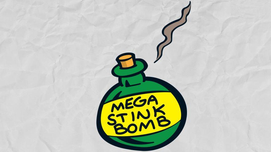 A secret stink bomb?