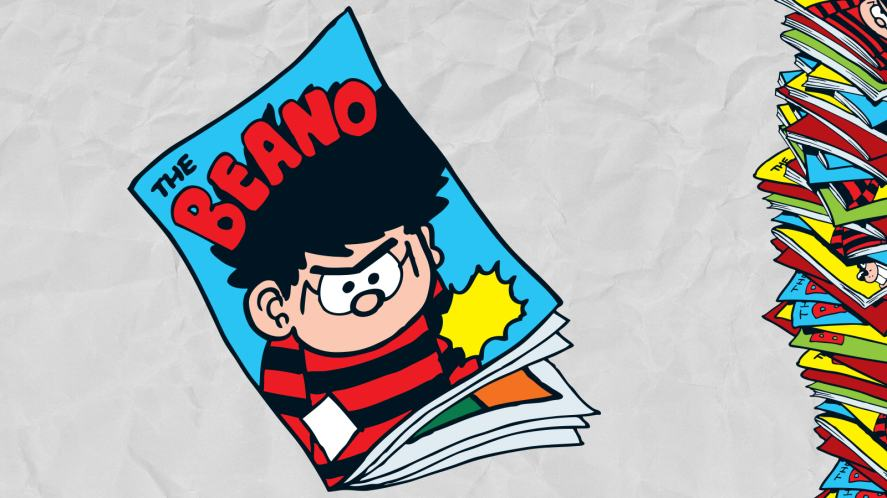 A stack of Beano's?