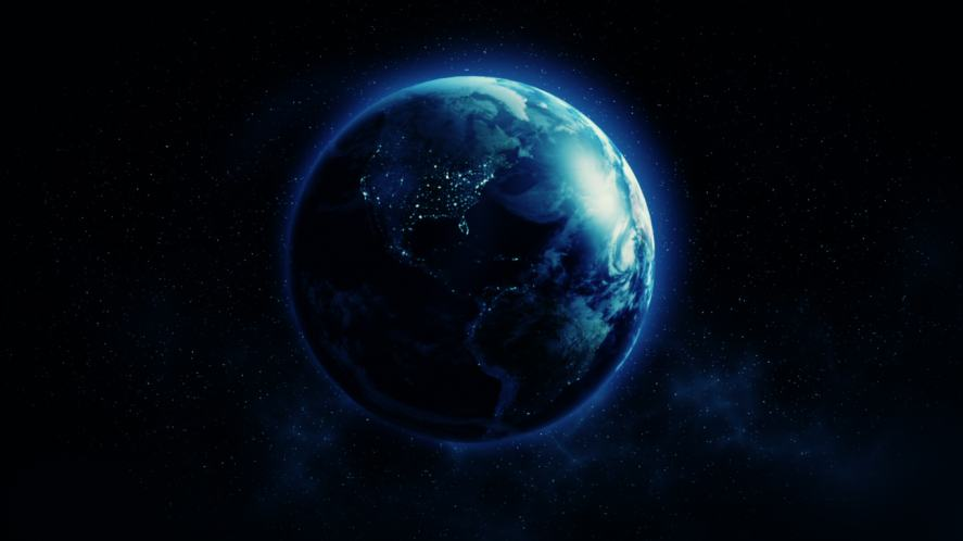 A view of planet Earth