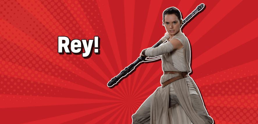 Star Wars character Rey