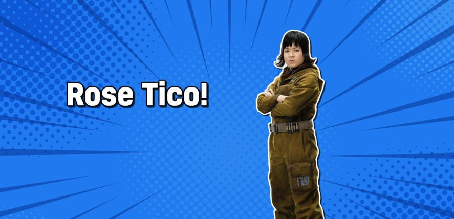 Star Wars character Rose Tico