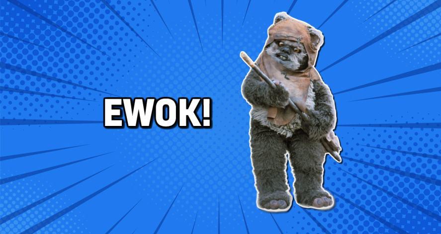 Star Wars' Ewok