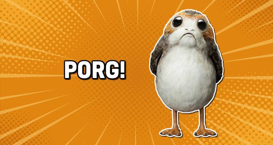 Star Wars' Porg!