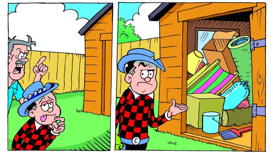 roger the dodger shed