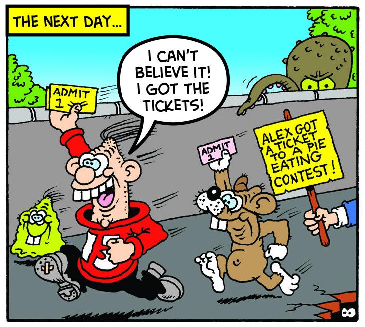 calamity james ticket