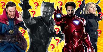 Avengers quiz featuring Iron Man, Dr Strange, Black Panther and Black Widow