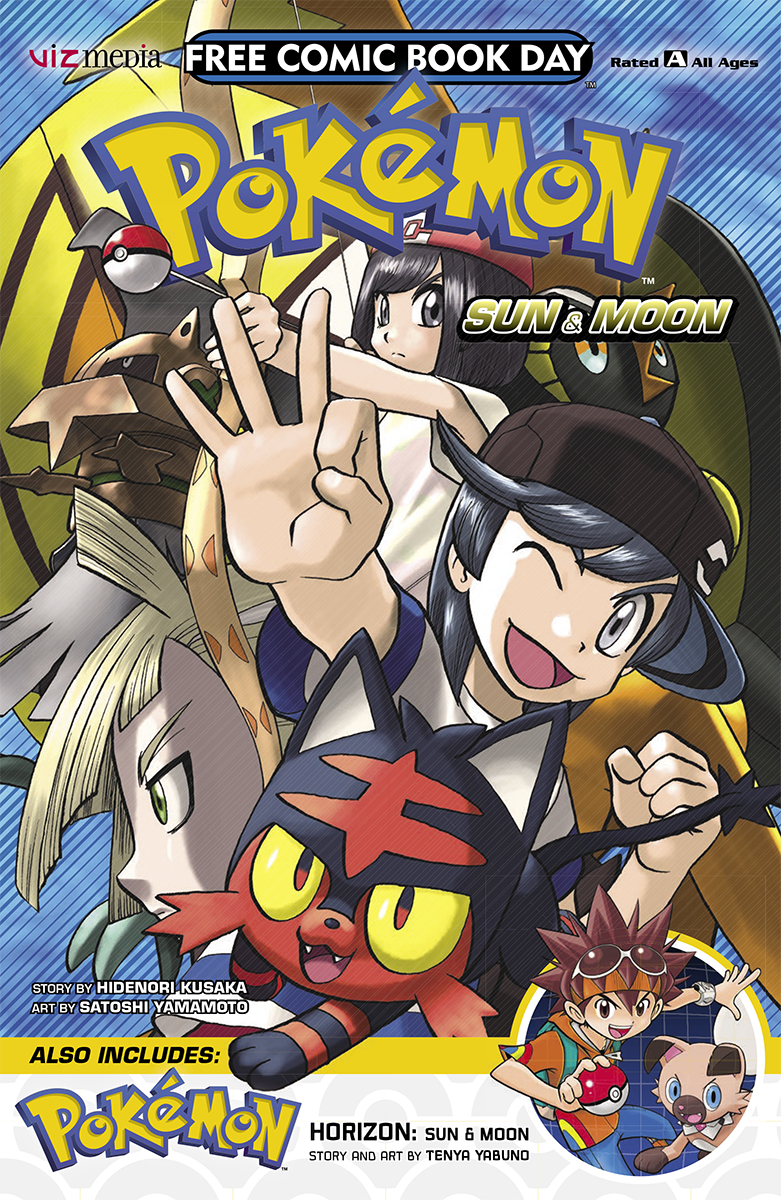 Pokémon Horizon free comic cover