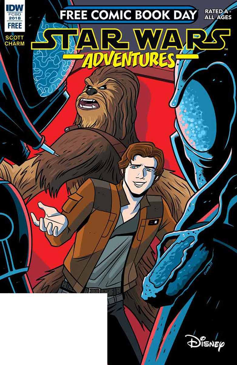 Star Wars free comic cover