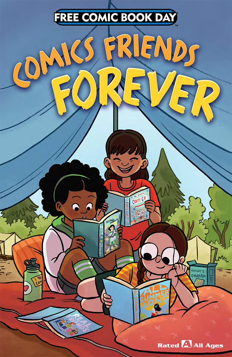 Comics friends forever cover