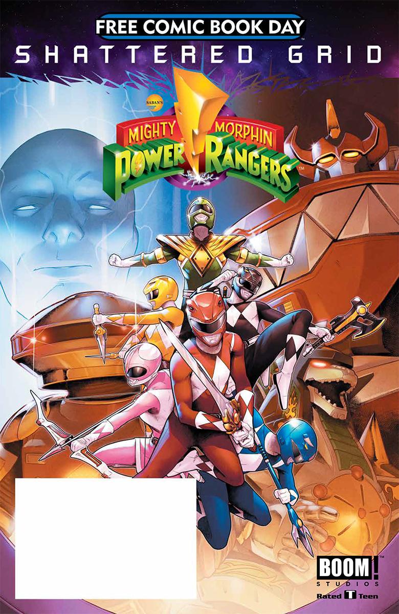 Power Rangers Comic Cover